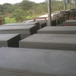 Large Black Basalt Slabs - HDG Building Materials