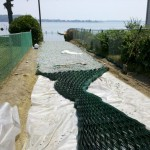 Beach Access with Cell-Tek Load Support Grid - LSG Series - HDG Building Materials