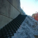 Slope Protection with Cell-Tek Slopegrid 8 - HDG Building Materials