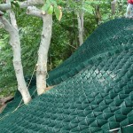 Slope Protection with Cell-Tek Slopegrid 3 - HDG Building Materials
