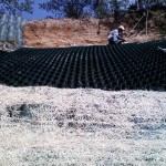 Slope Protection with Cell-Tek Cellular Confinement System - HDG Building Materials