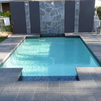 Butterfly Black Basalt Pool Surround - HDG Building Materials