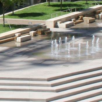 Water Feature at CityScape - HDG Building Materials