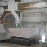 Stone Factory Saw Cutting Granite - HDG Building Materials