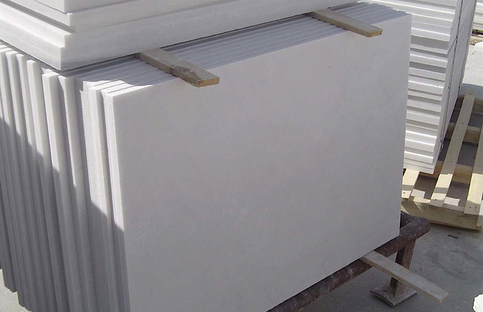 Snow White Marble - HDG building Materials