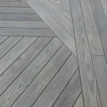 Thermally-modified ash 1 x 6 Grooved Decking patterns - HDG Building Materials