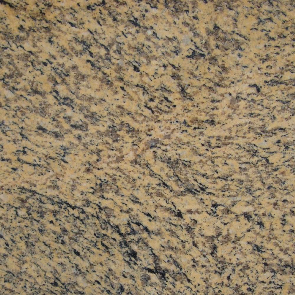 Tiger Yellow Granite - Honed Finish