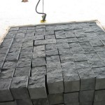 Black Basalt Cube Cobblestone - HDG Building Materials