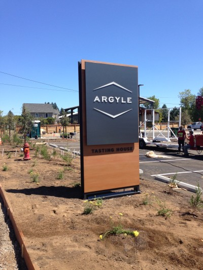 Argyle Tasting House Sign 1 - Resysta TruGrain - HDG Building Materials