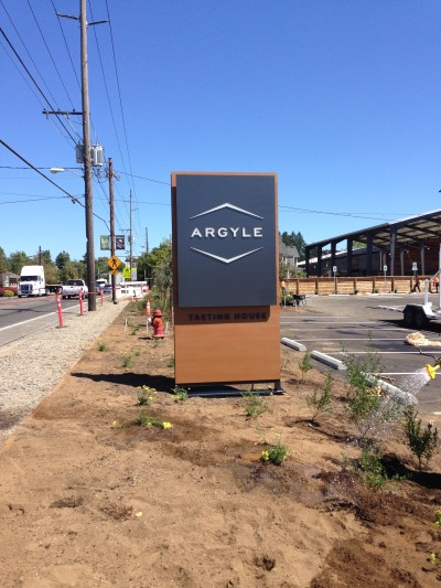 Argyle Tasting House Sign 2 - Resysta Tru Grain - HDG Building Materials