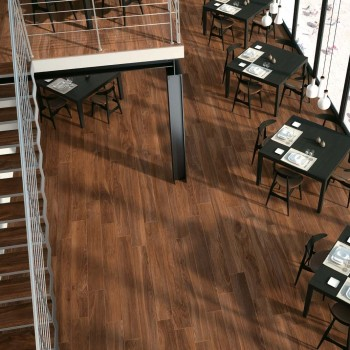 HDG Dakota Porcelain Tile in Hospitality Design