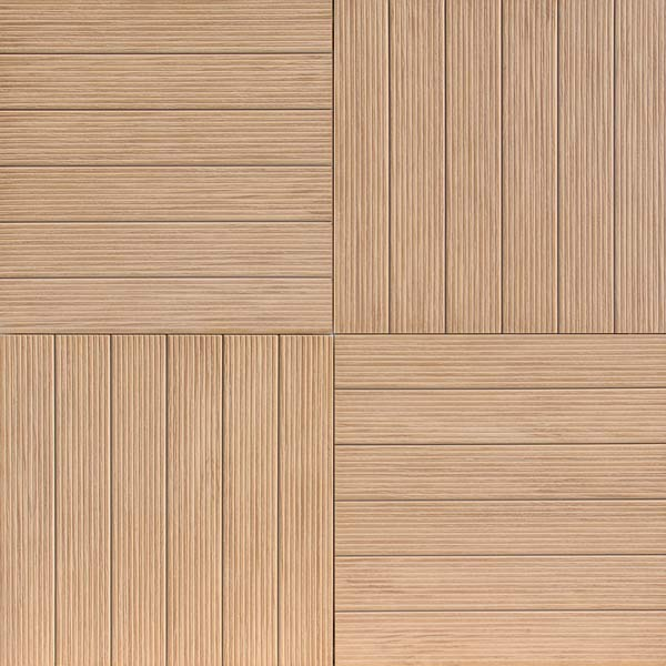 hdg legno wood-finish pavers - garapa