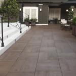 HDG Legno Wood-Finish pavers – Walnut