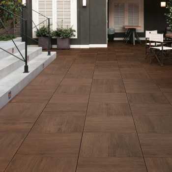 HDG Legno Walnut Sundeck SD 02 60x60 Porcelain Tile - HDG Building Materials