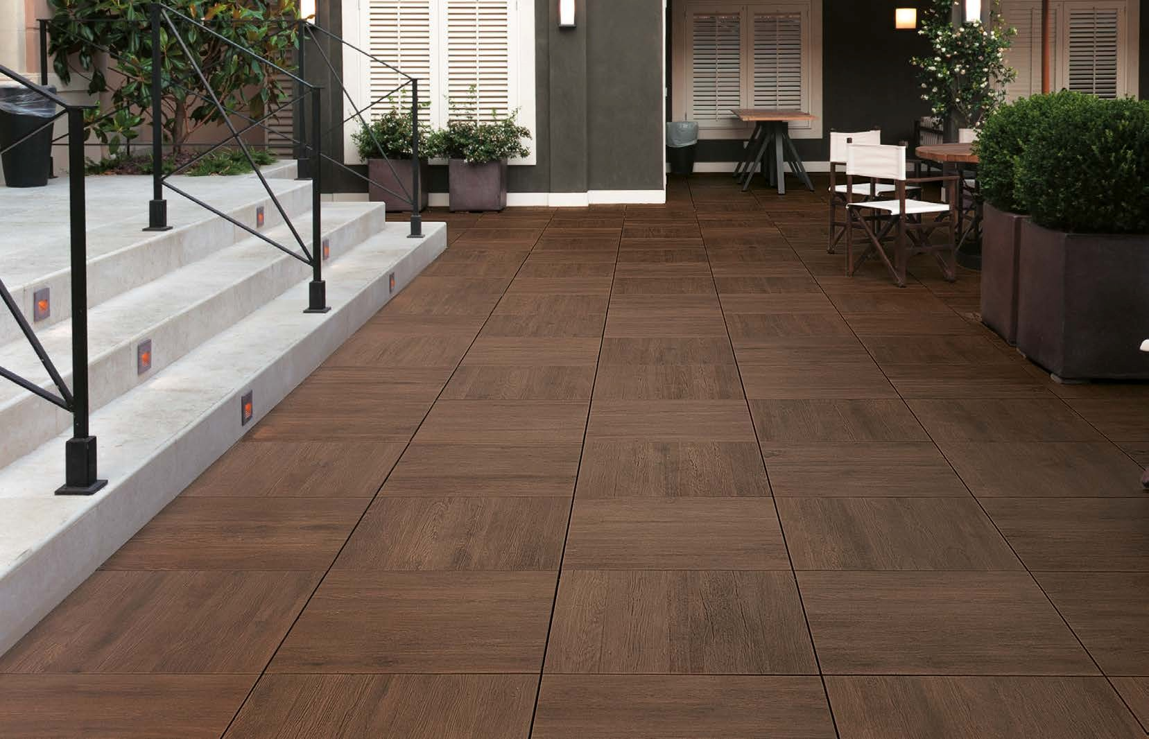 Hdg Legno Wood Finish Pavers Walnut Hdg Building Materials