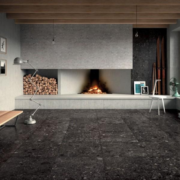 HDG PIETRA Sierra Smoke Porcelain Tile - HDG Building Material