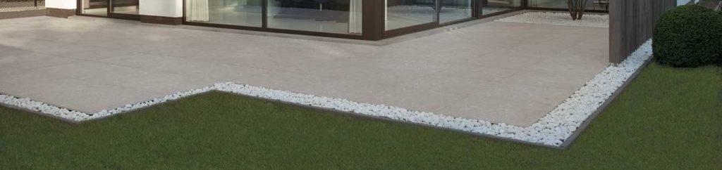 HDG Sierra Ash - 60x60 Porcelain Paver Patio - Quartzite Finish - HDG Building Materials