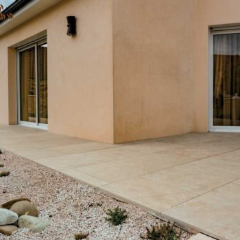 HDG Sierra Tan - Mountain Outdoor Porcelain Tile walkway