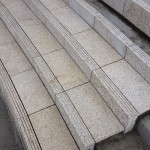 Tiger Yellow Granite Stairs Horton Plaza Park San Diego - HDG Building Materials