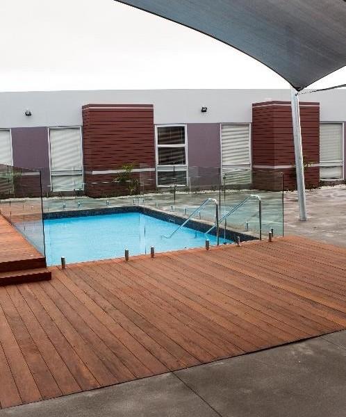 True-Genuine-Mahogany-Pool- HDG Building Materials