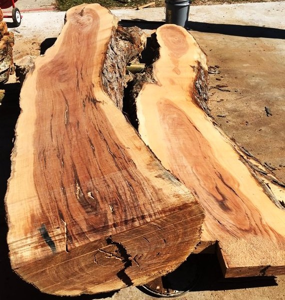 Tropical Hardwood Slab - HDG Building Materials