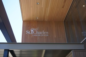 St. Charles Cancer Center - Resysta Cladding Siding and Decking - HDG Building Materials