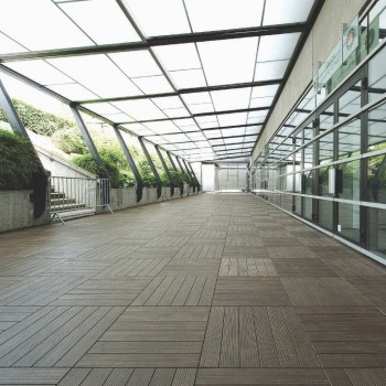 HDG Faggio 3468 Porcelain Tile - Atrium Walkway - HDG Building Materials