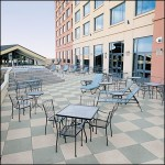 HDG NW Series 24x24 Concrete Paver - Dining Area - Mutual Materials