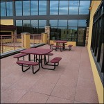 HDG NW Series 24x24 Concrete Paver - Gathering Area