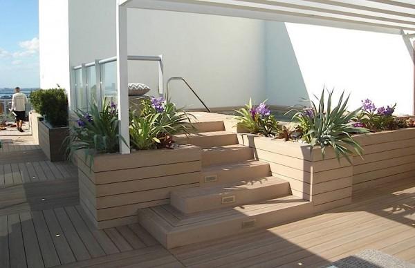 Resysta TruGrain - Pool Hot Tub Surround - W Hotel Miami - HDG Building Materials