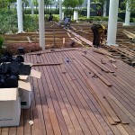 Wood Decking with Buzon Pedestals - HDG Building Materials