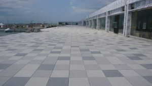 BC Series Buzon Pedestals with Stone Tile - Marina Application 8 - HDG Building Materials