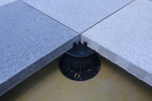 Buzon Pedestal with Stone and Space Tab - HDG Building Materials