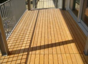 Buzon Pedestals with Wood Decking 2 - HDG Building Materials