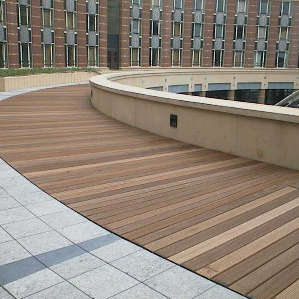 Buzon Pedestals with Wood Decking - HDG Building Materials