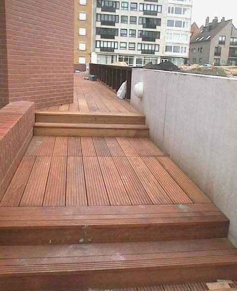Buzon Pedestals with Wood Decking 4 - HDG Building Materials