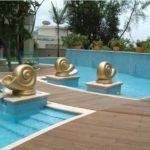 Buzon Pedestals with Wood Decking 5 - HDG Building Materials