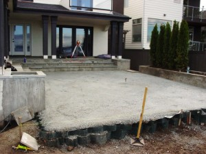 Cell+Tek+Being+Used+for+Patio+Buildup+Before - HDG Building Materials