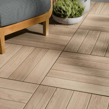 HDG Arctica Porcelain Pavers - Decking Application Outdoor Living