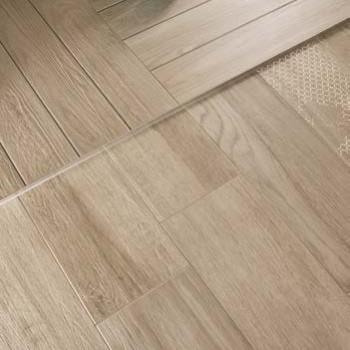 HDG Arctica Cream White Porcelain Paver Slats - Decking Textured Flooring