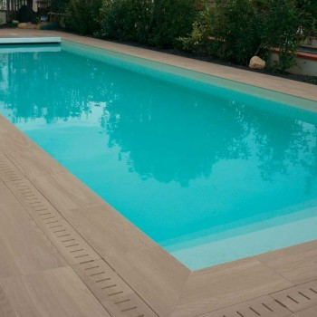 HDG Arctica Porcelain Tile - Private Pool Decking Application