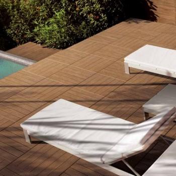 HDG Garapa Rovere 3464 Porcelain Tile Scene left - HDG Building Materials