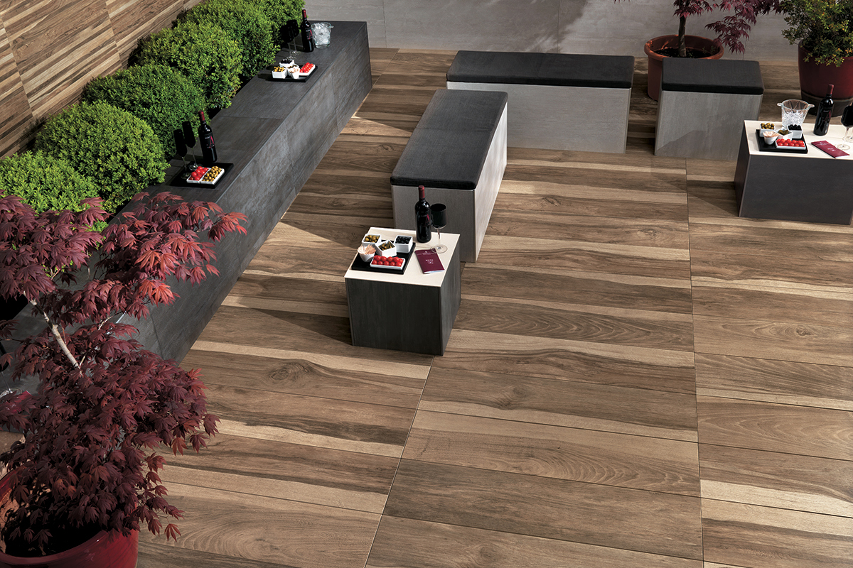 Hdg Legno Wood Finish Pavers Quercia Hdg Building