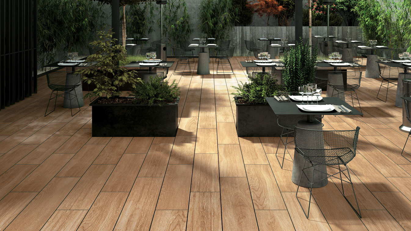 HDG Legno Wood Finish Pavers Havana 04