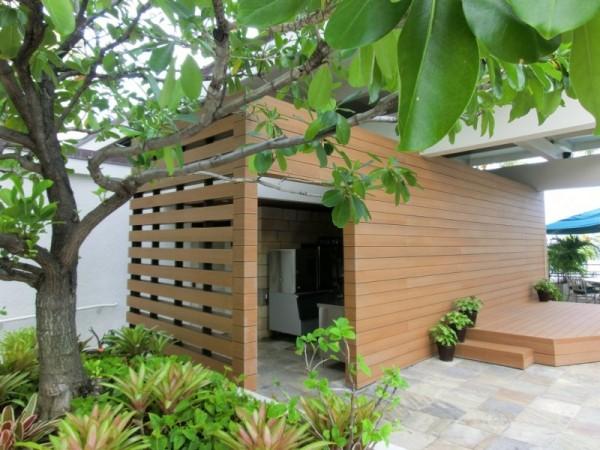 Marriott Waikiki - Resysta TruGrain Cladding - HDG Building Materials