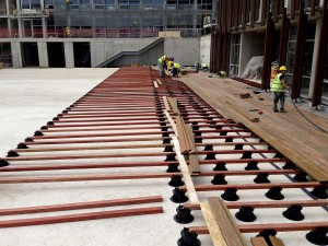 Buzon Pedestals and Ipe Hardwood Decking - HDG Building Materials