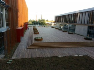 Buzon Pedestals and Ipe Hardwood Decking 8 - HDG Building Materials