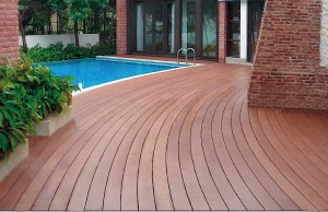 Resysta Tru Grain Decking Flooring Pool Surround - HDG Building Material