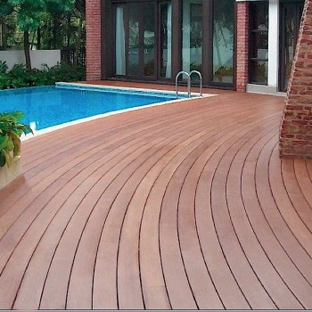 Resysta Tru Grain Decking Flooring Pool Surround - HDG Building Material