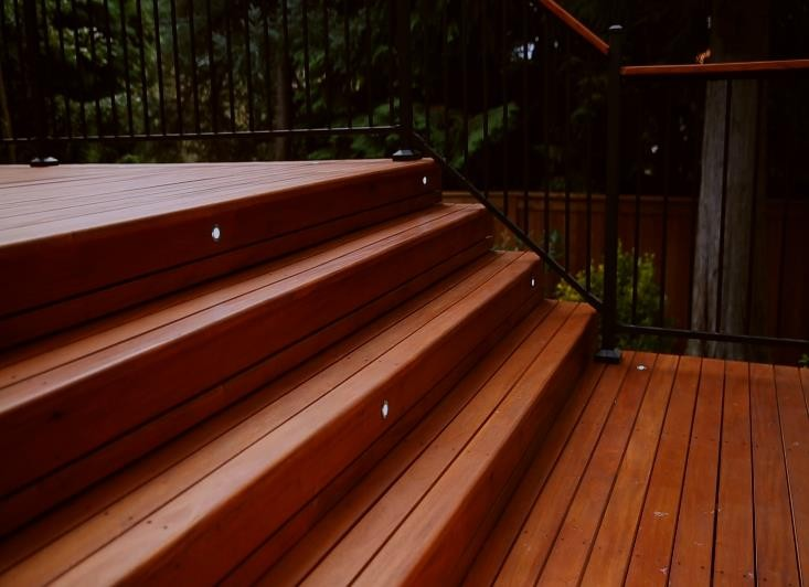 True-Genuine-Mahogany-Stairs-Decking-Application-HDG Building Materials